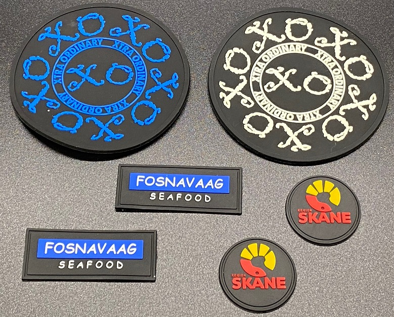 Silicone Rubber PVC Patches