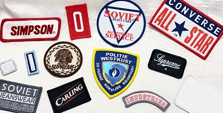 Woven Merrow Patches